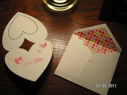Card 1 of 2 ~ Cut from Wild Card cartridge