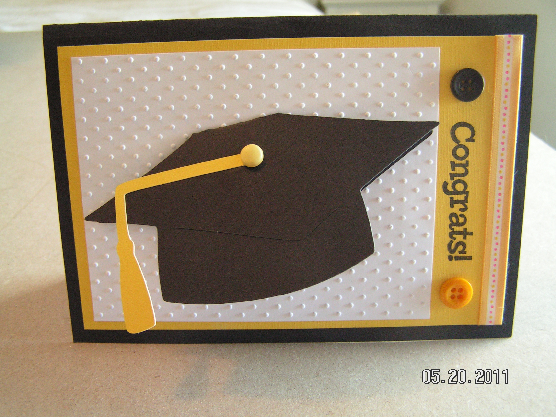Graduation Card Wild Card Southern Cricut Lady