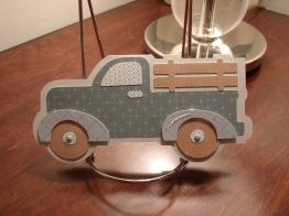 Truck Shaped Birthday Card - Just Because Cards