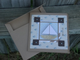 Nautical Birthday Wishes - Wild Card, Just Because Cards