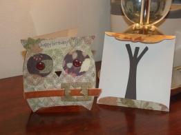 Owl Card & Envelope - Wild Card Cartridge