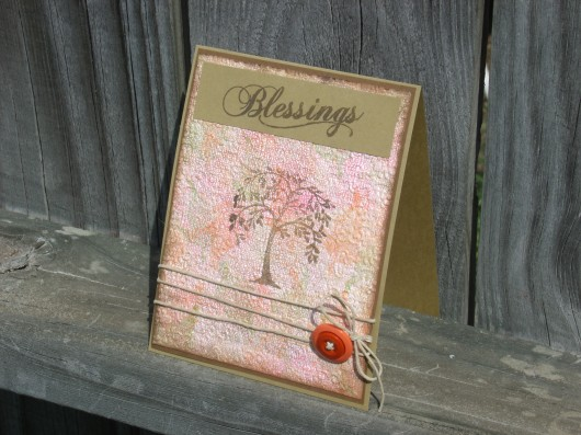 Autumn Colors - Blessings Card