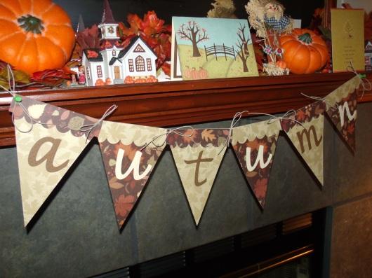 Autumn Banner - SFTN (font from Designer's Calendar)