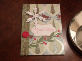 Christmas Card for Hubby - Potpourri Basket, Storybook