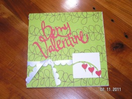 Valentine Card - Cricut's Walk in My Garden