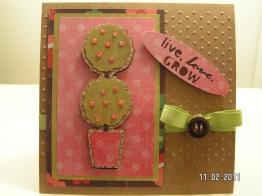 Anniversary Card - Bloom Cartridge