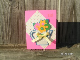 Cricut Lite Bloom - Pitcher with Flowers