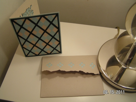 Argyle Card and Envelope
