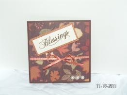 Blessings Card - WIMG Square Card