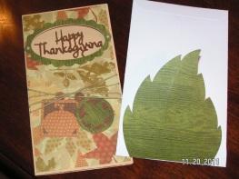 Wild Card's Leaf Card