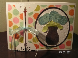 Hydrangea Card - Mother's Day