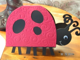 Lady Bug Card