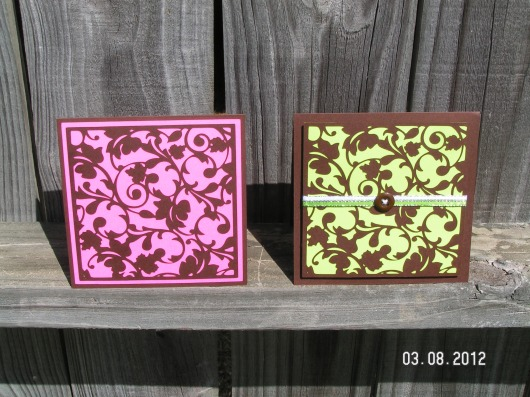 Filigree Cards - Straight from the Nest