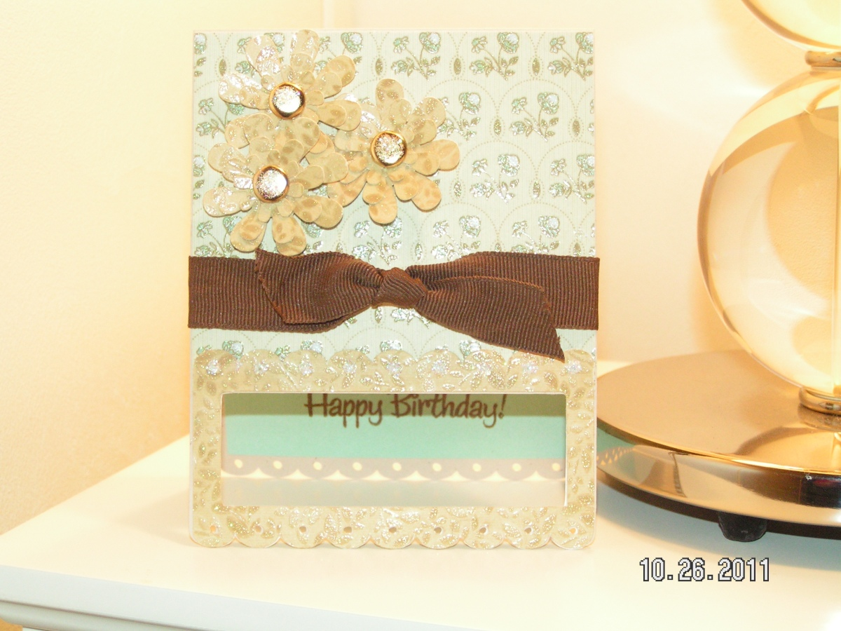 Vintage Looking Birthday Card for Mom