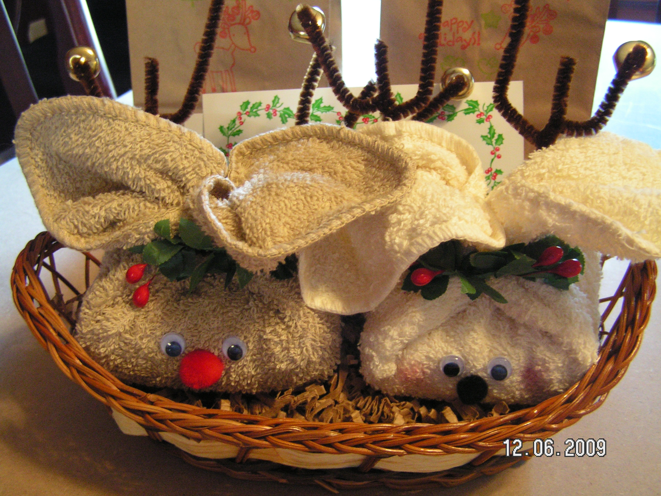Rudy Trudy Reindeer Made From Soap And Washcloths Southern Cricut Lady