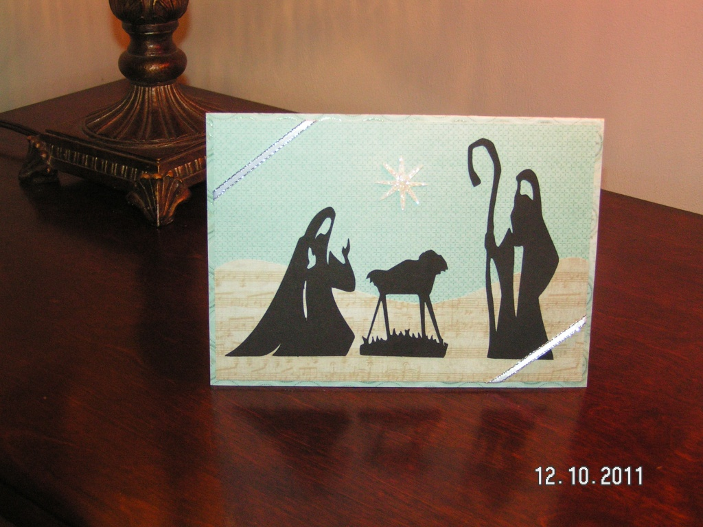 Nativity Card - Joy to the World