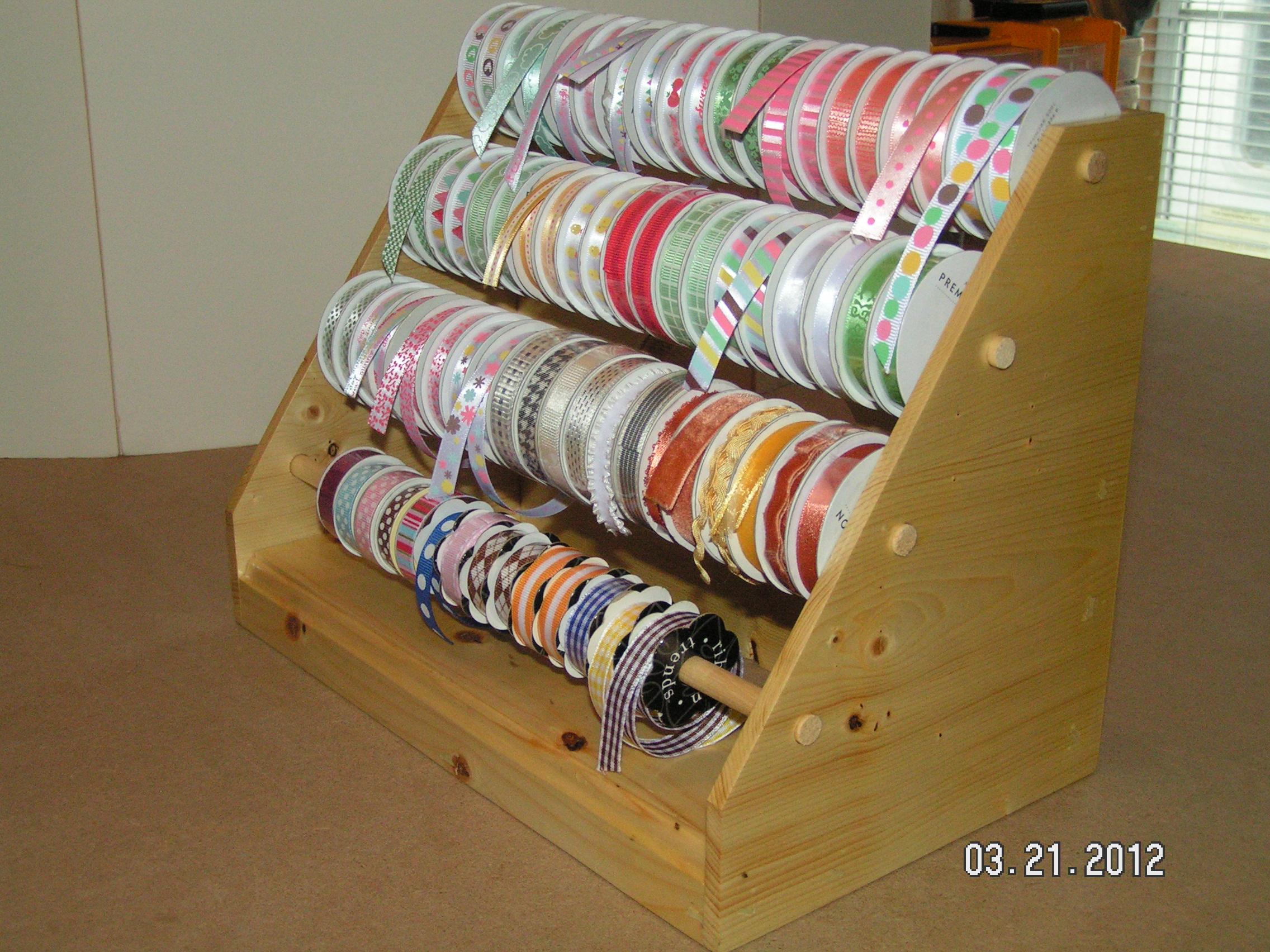 Since ... & Handmade Wooden Ribbon Dispenser | Southern Cricut Lady
