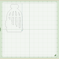 Bird Cage Shaped Card
