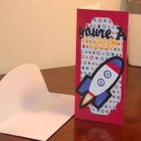 You're A Blast - Birthday Card
