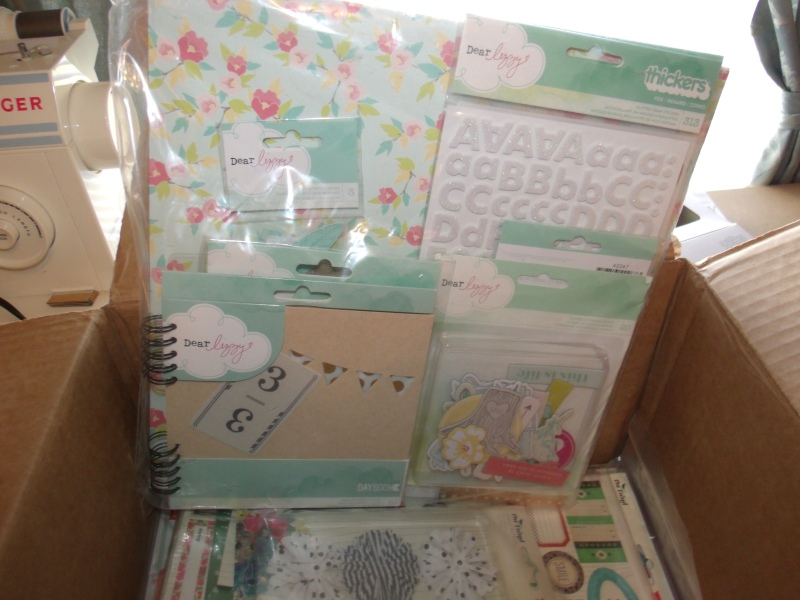 Box of American Crafts goodies