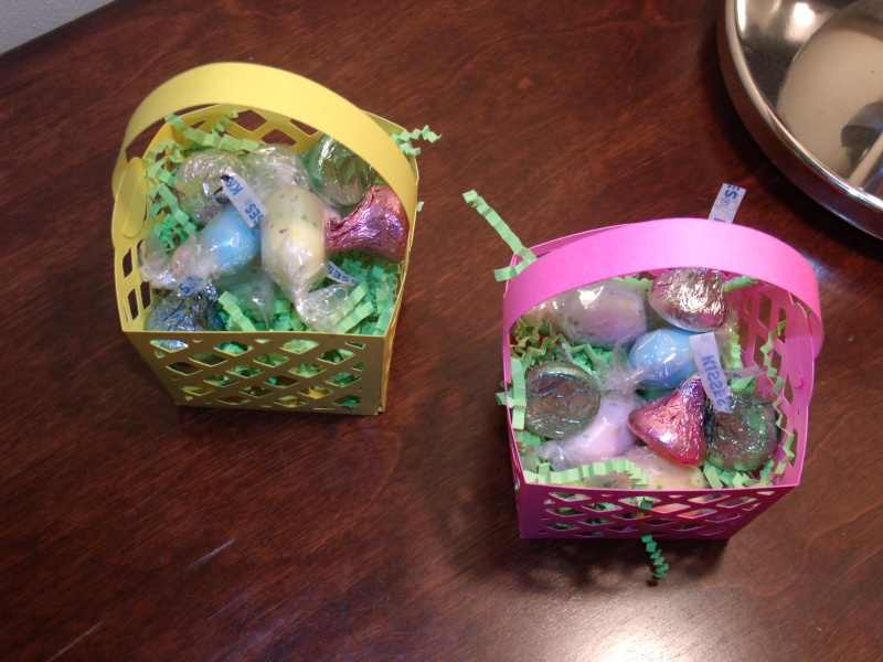 TBBM2 - Easter Baskets with treats
