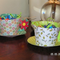 Mother's Day Tea Cups