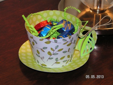 Paper Teacup 1 - for my Mom