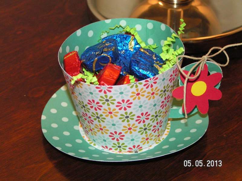 Paper Teacup 2 - for my MIL