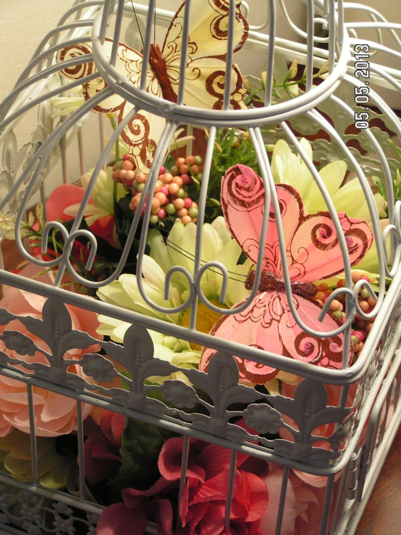 Bird Cage Arrangement