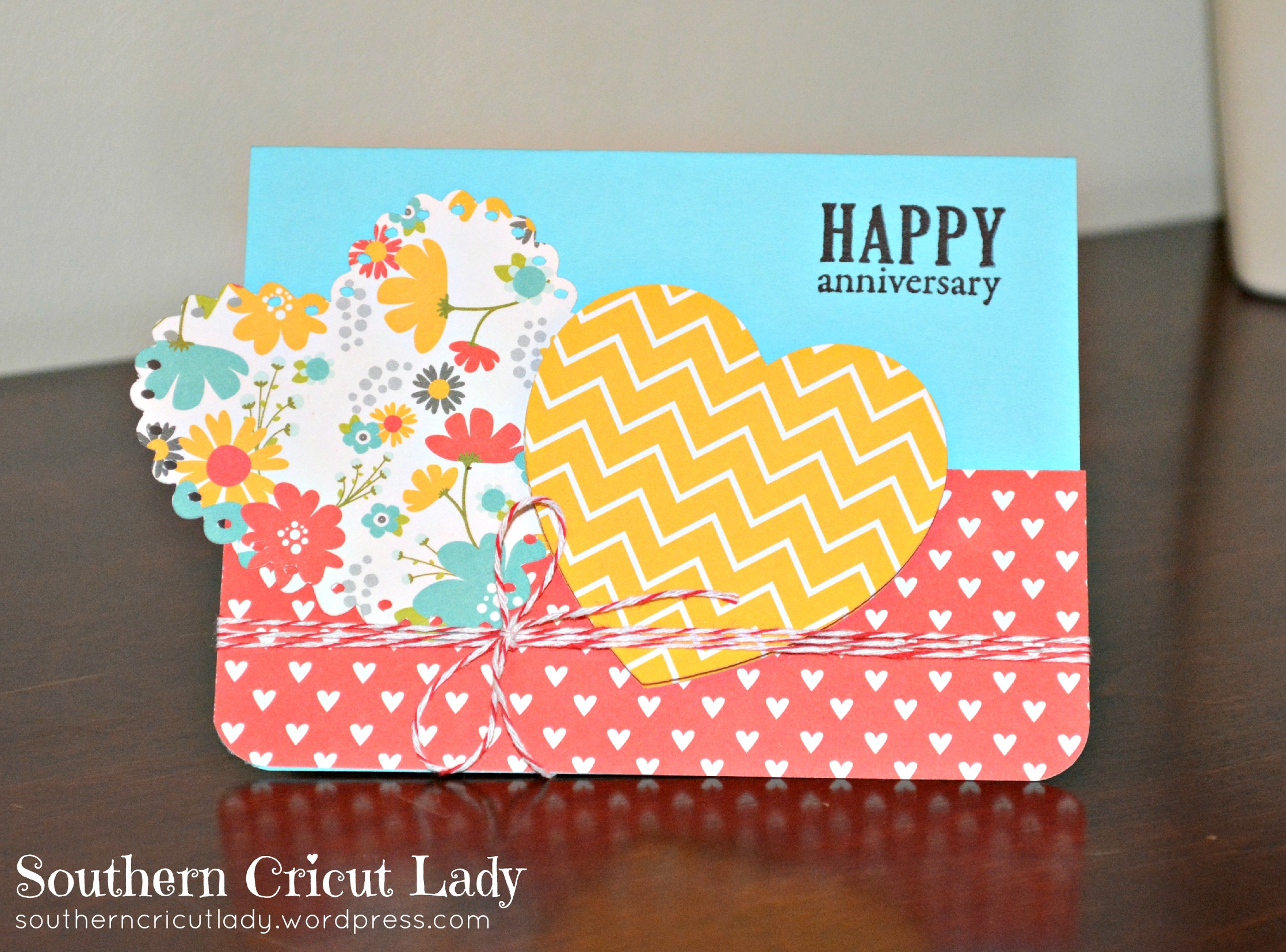 Southern cricut lady a journey of paper exploration and for Anniversary craft ideas for parents