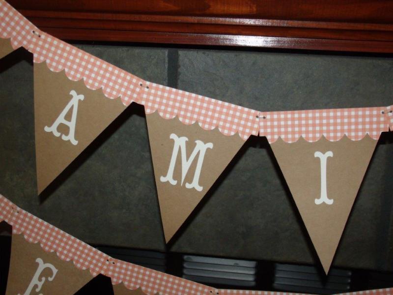 Family Celebration Banner